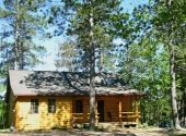 Cabin 1, outside 2